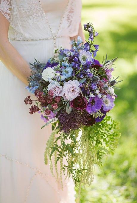 GFLlwitqAZo - Голубые свадебные букеты (19 фото)
