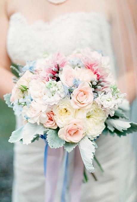 jMjysGdWDxk - Голубые свадебные букеты (19 фото)