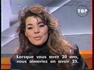 "Sandra - interview & videoclip ""don't be aggressive"" (28) ~ (top 50, 1992) france"