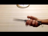 Обучение трюкам с ножом бабочкой (часть 1)