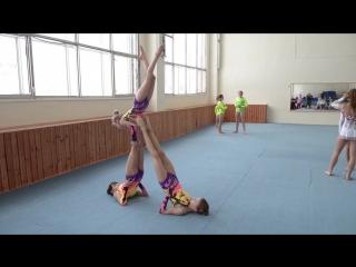 Акробатика 87 школа (теперь 90 школа)