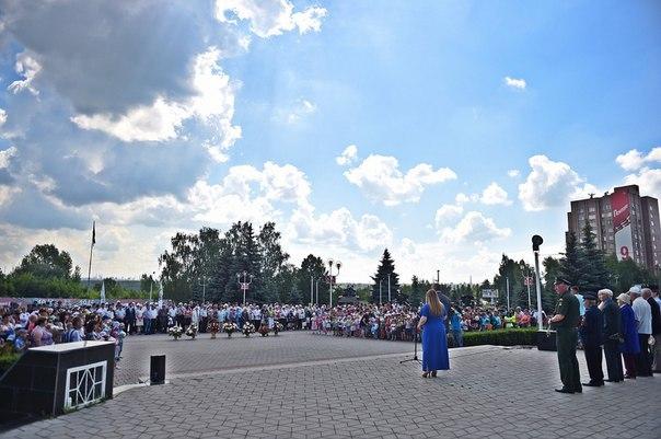 В Нижнекамске на митинге в память о погибших в Великой Отечественной войне собрались 1500 человек