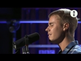Justin Bieber Cold Water BBC Radio 1 Live Lounge 2016