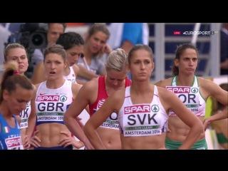 Women's 4x400m Relay H1-2 European Athletics Championships 2016 HD