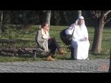 Сумасшедший АРАБ с бомбой в рюкзаке - шалости в Хорватии...