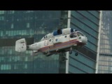 Показные пожарно-тактические учения в районе международного делового центра «Москва-Сити»