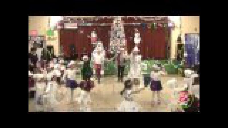 Танец Ёлка, шарики, хлопушки... Daycare TEREMOK 2015