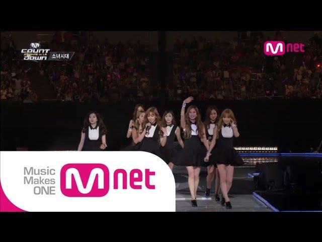 Mnet [엠카운트다운] Ep.389 소녀시대(SNSD) - 미스터미스터(Mr.Mr.) 미스터택시(Mr.Taxi) Gee @MCOUNTDOWN_140814