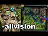 Treant Full Map Tree Vision vs 300 Wards - Australian Dota 2