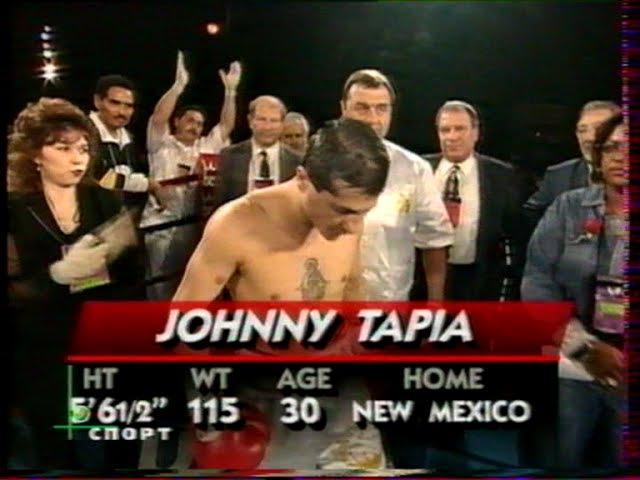 БОЛЬШОЙ РИНГ Johnny Tapia Andy Agosto Vince Phillips Alfonzo Sanchez