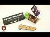 Нож складной CRKT Desert Camo, M16-14ZSF (насечки) (Видео-Обзор)