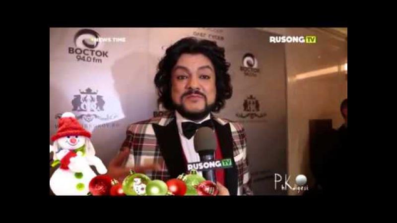 Филипп Киркоров в программе NEWS TIME RUSONG TV Выпуск 159 ч 2 Новогодний