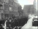 SS Guard of Honour in Cracow for Marshal Jozef Pilsudski