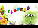The Flowers Alphabet Song ABC Song Flowers abc flowers elearnin