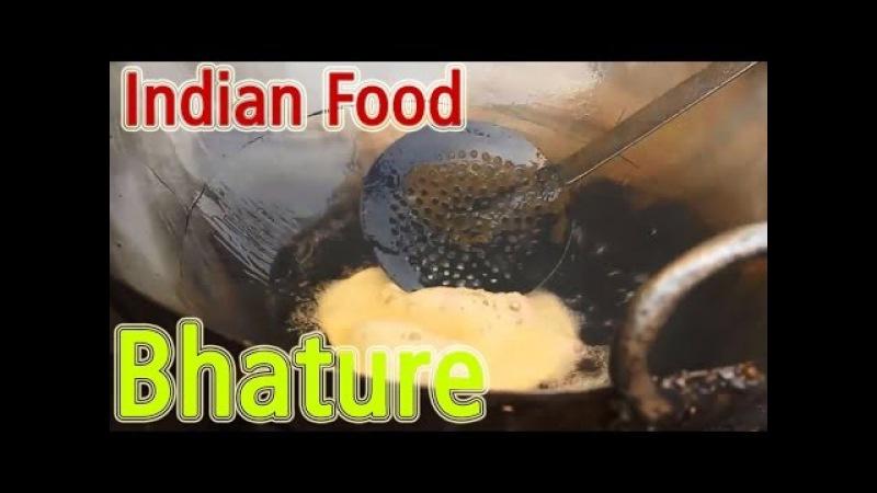 Indian Street Food - Chhole Bhature