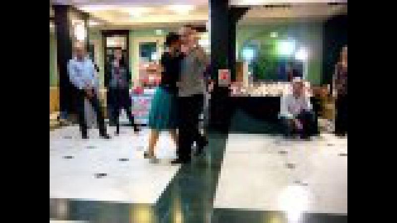 Lezione di Milonga traspie al 1° Tango Festival di