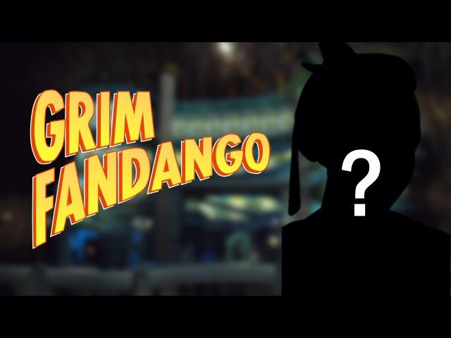 Гугл-Женщина играет в Grim Fandango
