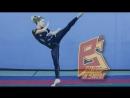 Растяжка под хайкик и другие амплитудные удары ногами. Stretching for high kicks. Юлиана Пла
