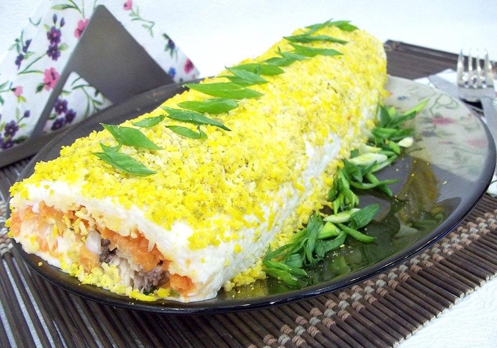 Рецепты салата шуба рулет с