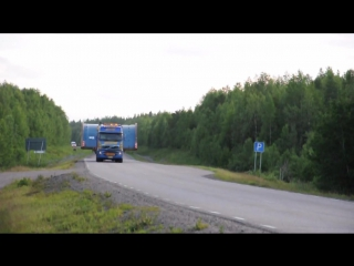 Heavy Haulage - Volvo FH16 8x4 and 6x4 with Metso Mill parts to Northland, Kaunisvaara