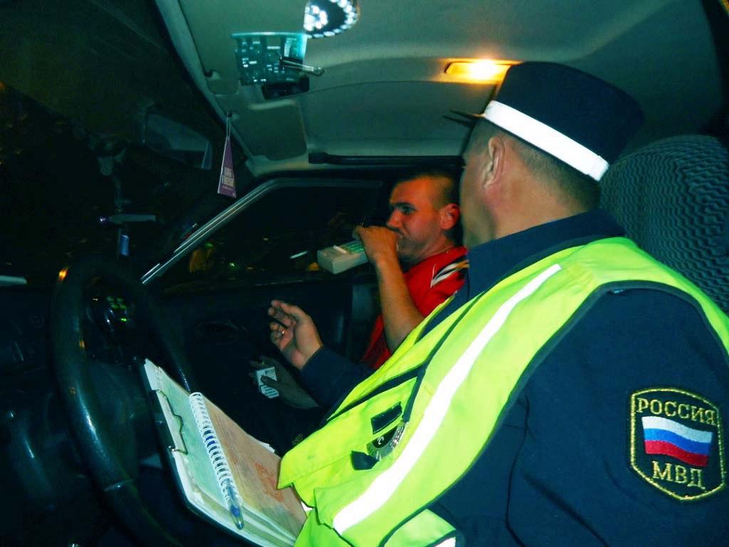 За минувшие выходные в Якутске задержано 37 пьяных водителей