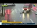 Выжившая: девушка не пострадала, когда ее переехал автобус