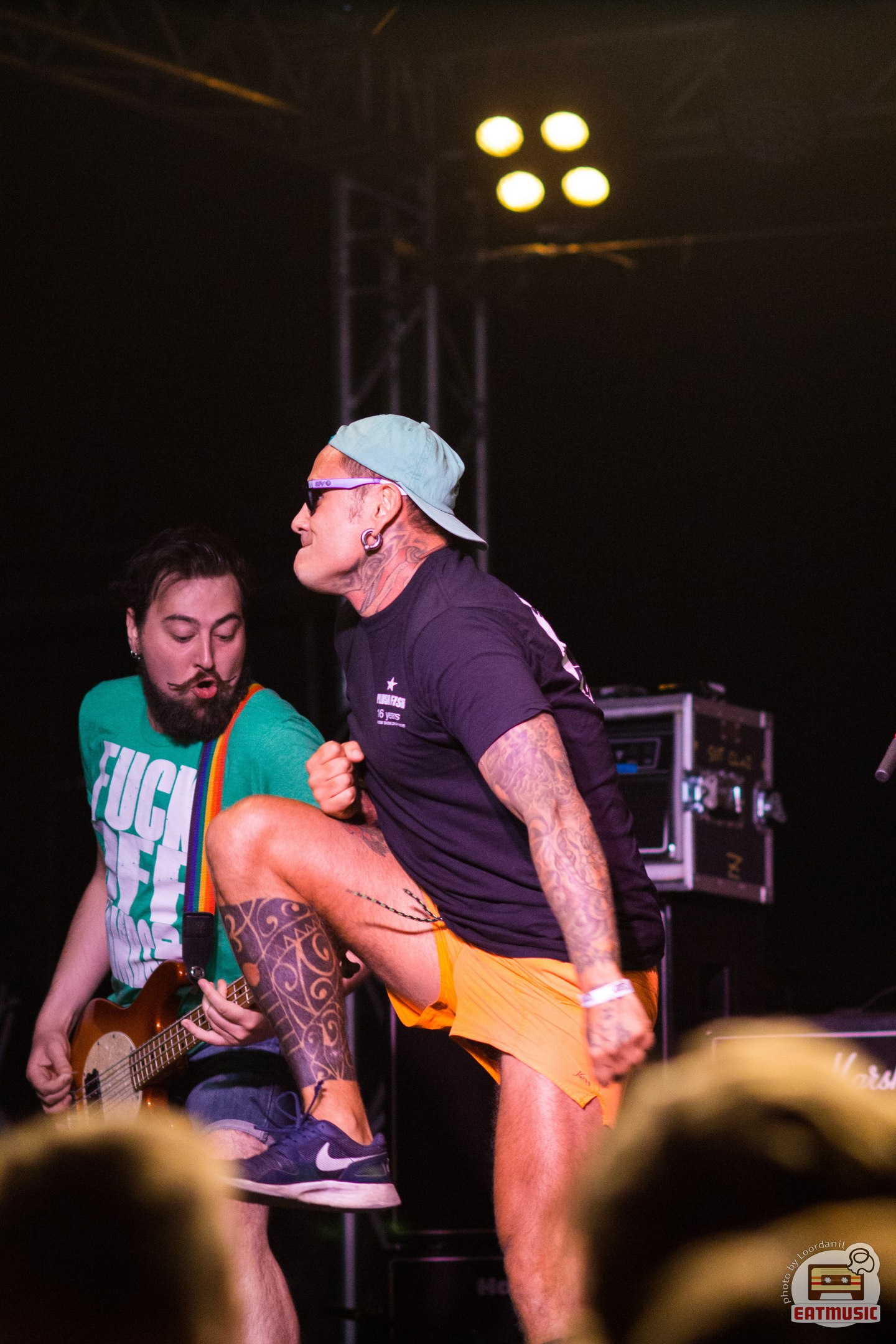 16/08/16 Концерт Zebrahead + Plush Fish @ VOLTA Фотограф - Роман Воронин