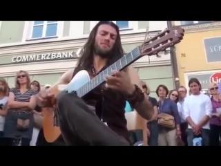 Лучший Уличный Гитарист Мира 100% _ Очень Красивая Испанская Гитара