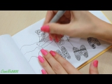 DIY РИСУЮ Зимняя страничка  Дудлинг Буквы  Doodling  Идеи для скетчбука, ЛД