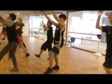 今天舞蹈室来了一位新同学-林枫松