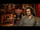 Aaron Taylor Johnson Says Keira Knightley is Fantastic in Anna Karenina