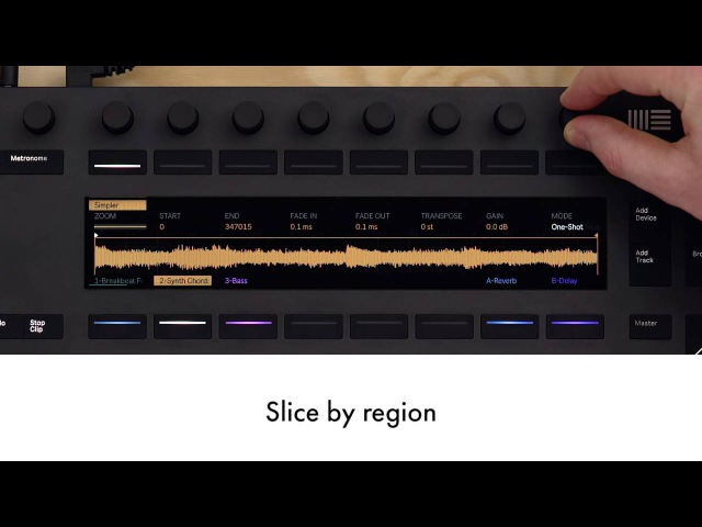 Live 9.7: New slicing modes