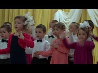 Воспитанники школы-интерната для детей-сирот г. Сосновки Вятскополянского района поют песню о маме.