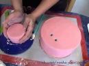 Как собрать двухъярусный торт