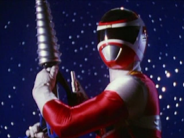 Power Rangers in Space - All Weapons.