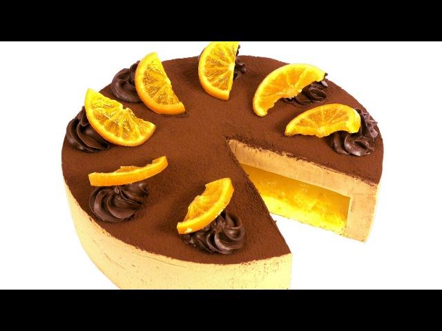Торт Делиция с апельсиновой прослойкой. / Наша группа в ВК: ТОРТЫ / ВИДЕО РЕЦЕПТЫ