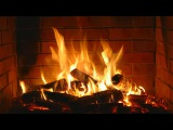 Fireplace - romantic - Full HD and 4K - 2 hours crackling logs Valentine's Day - Love