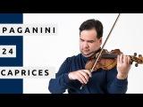 PAGANINI 24 Caprices - Antal Zalai, violin