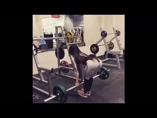 Nabieva Bakhar Бахар Набиева Legs and Abs Female Fitness 18