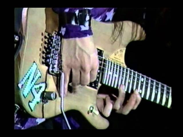 Nuno Bettencourt Guitar Solo - Live In Rio de Janeiro @ Hollywood Rock 1992, Brazil