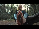 Lauren's Feet Are Back! In the Woods 4K
