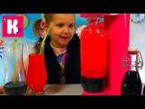 Газируем сладкую водичку из пакетиков на автомате с баллоном CO2 DIY Soda grape orange &amp strawb...