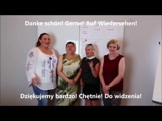 Lektion 1: Język niemiecki przywitanie, przedstawianie się.