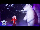 Vadik and The Bear are fishing for your votes Semi-Final 3 Britain's Got Talent 2016