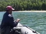 Прекрасная рыбалка на Байкале!