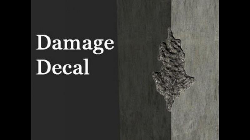 Game Assets - Damage Decals- Part 2
