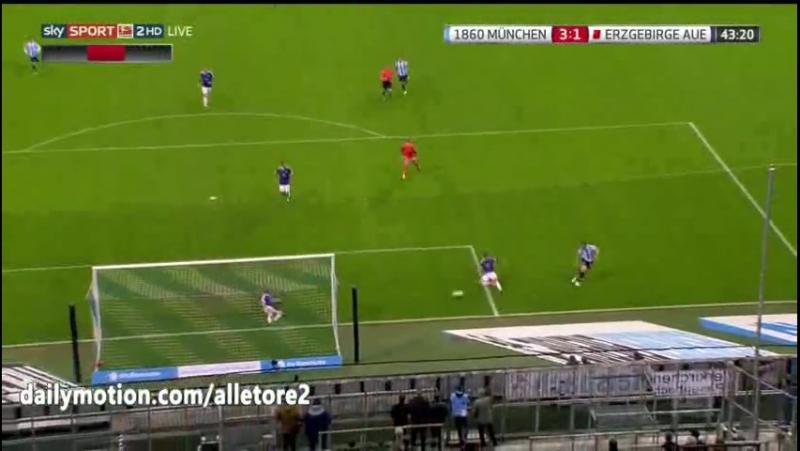 1860 Muenchen vs Erzgebirge Aue 6-2 All Goals Highlights
