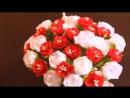 Цветы из Лент _ Из Лент Своими Руками _ Атласные Цветы _ Канзаши Мастер Класс _ Satin Flowers