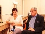 Эммануил и Ирина Виторган дали большое интервью телекомпании КТВ-Луч в Сызрани