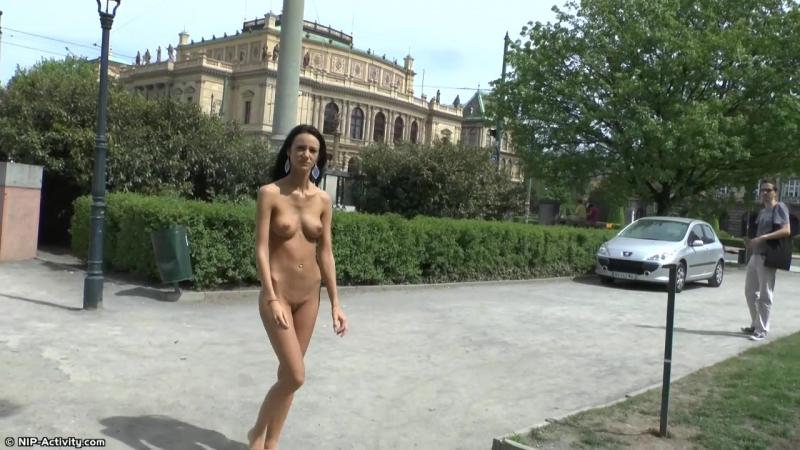 Martina P Nude in Public 4